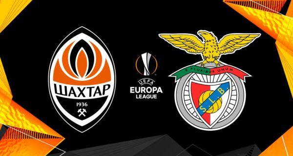 Шахтар стартує у Лізі Європи матчем проти Бенфіки