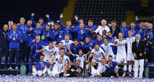 «Динамо» в серії пенальті переграло «Ворсклу» та завоювало Кубок України