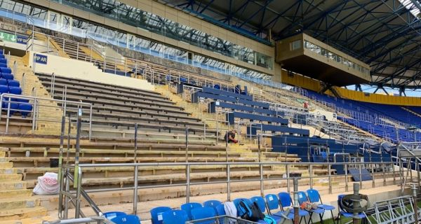 В\'ячеслав Шевченко: «Всі роботи на стадіоні йдуть за графіком, відставань немає»